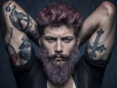 Как смотрятся вместе борода и тату: фотоподборки