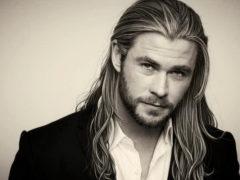 Борода и длинные волосы – оригинальное сочетание