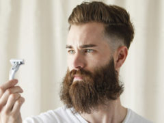 Как правильно брить усы, если оставляешь бороду: что нужно учитывать?