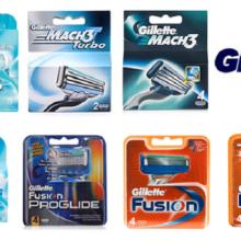 Лезвия для бритья Gillette: обзор по всем видам