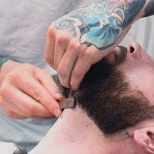 Нестандартные методы бритья: бритье опасной бритвой
