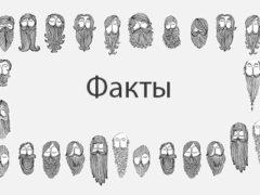 История и интересные факты о бороде и усах