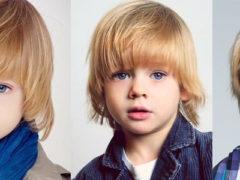 Детская стрижка шапочка для мальчика