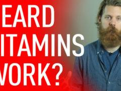Какие принимать витамины для роста бороды?