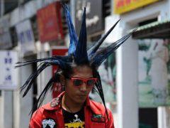 Мужские прически в стиле панк: фото и виды