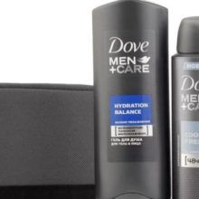 Мужские шампуни Dove: обзор