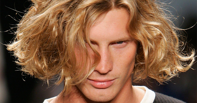 Foto-2-25 Мужские причёски для кудрявых волос: виды и фото