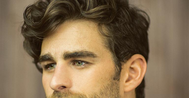 Foto-5-28 Мужские причёски для кудрявых волос: виды и фото