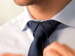 Как завязать галстук элдридж: сложный узел в простой инструкции