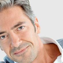 Мужские стрижки для седых волос
