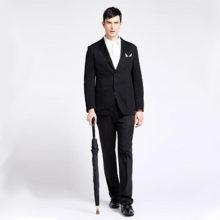 Мужской зонт трость: полный обзор аксессуара