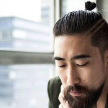 Top Knot: модная мужская стрижка