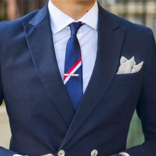 Выбираем зажимы для галстука: золото, серебро или позолота?