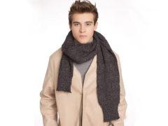 Виды мужских шарфов с названиями и фото