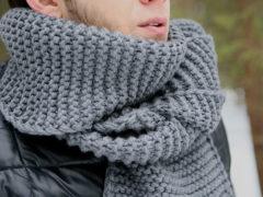 Как красиво завязать шарф мужчине разными узлами?