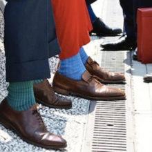 Цветные мужские носки: модный тренд сезона