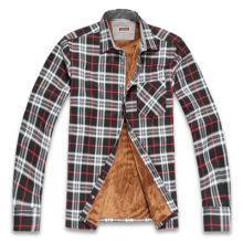 Теплые зимние мужские рубашки: подбираем свой фасон