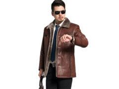 Модели и фасоны мужских кожаных курток: краткий фотообзор