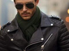 Стильные и модные мужские кожаные куртки 2018 и не только
