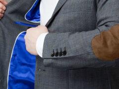 Мужские пиджаки с заплатками на локтях — модный тренд сезона