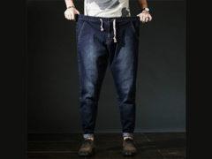 Как определить размеры мужских джинс с помощью таблицы?