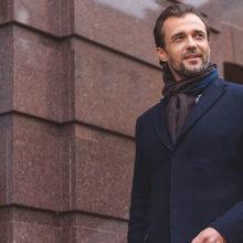 С чем носить пальто мужчине: фото современных луков