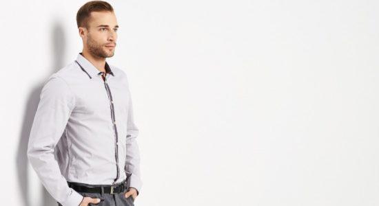 Как должна сидеть рубашка на мужчине: фотоинструкция