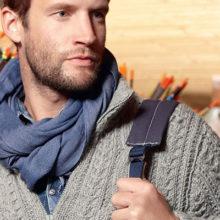 Модные вязаные мужские кофты: обзор популярных моделей