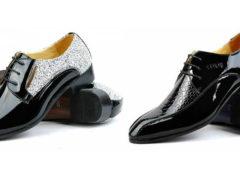 Мужские лакированные туфли: уход и с чем носить?