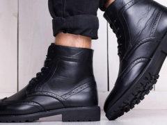 С чем носить мужские ботинки разных цветов и моделей: советы стилистов