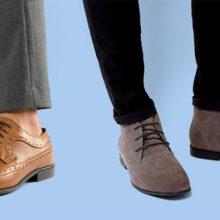 Модные мужские туфли 2018 года
