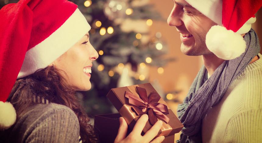 подарок любимой девушке на Новый Год