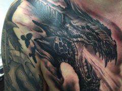 Татуировки дракона для мужчин: подбираем для себя