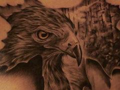 Значение татуировки орла для мужчин и парней