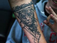 Значение тату тигра для мужчин и фотоподборка эскизов