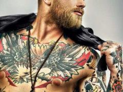 Топовые брутальные татуировки для мужчин