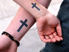 Значение татуировки крест для мужчин: фотоподборка
