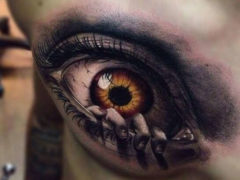 3D татуировки для мужчин: 94 фото