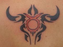 Татуировки для мужчин тельцов: значение знака зодиака