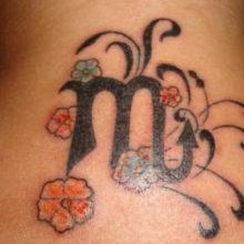 Татуировки для мужчин знак зодиака дева: фотоподборка эскизов
