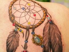Татуировка ловец снов: значение для мужчин и 60 фото