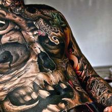Татуировки для мужчин и их значение: лучшие тату