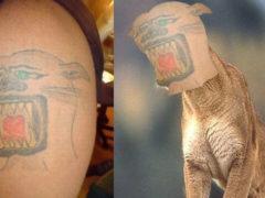 10 самых неудачных татуировок
