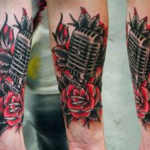 Лучшие красивые тату на руку для мужчин: фото модных тату