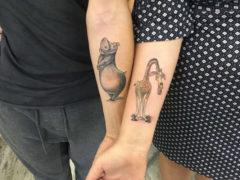 Совместные тату для парня и девушки и для лучших друзей