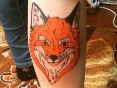 Татуировки лисы для мужчин в современном обществе