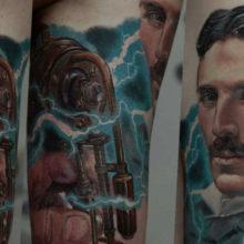 Эскизы татуировок в стиле реализма: подборка для мужчин