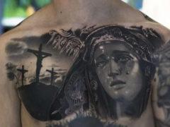 Православные татуировки для мужчин