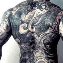 Эскизы татуировок для мужчин на спине со смыслом