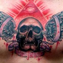 Популярные татуировки со смыслом для мужчин на груди